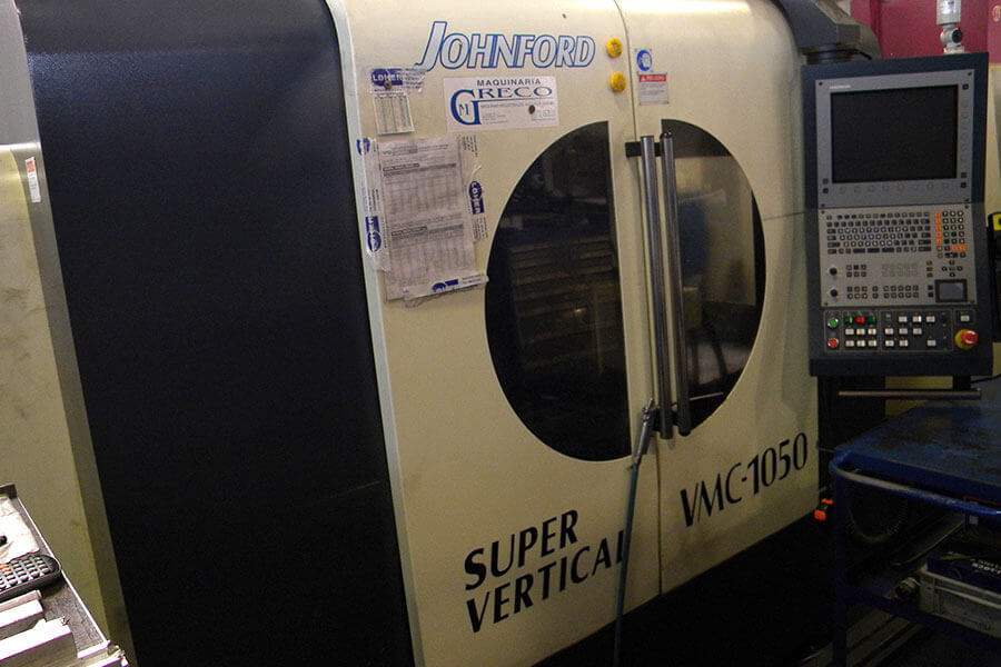 entro de mecanizado CNC GORATU CVC 1000. 1000 x 500 x 500.