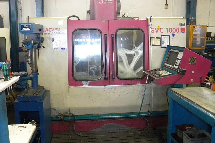 Centro de mecanizado CNC GORATU CVC 1000. 1000 x 500 x 500.