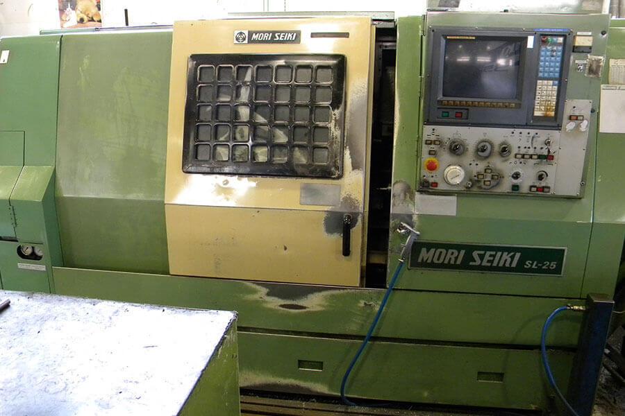 Torno CNC Mori-Seiki SL 25 Ø Mecanizado 250 x 500