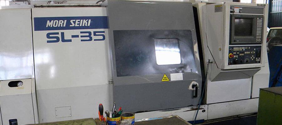 Torno CNC perteneciente a Industrias Loher