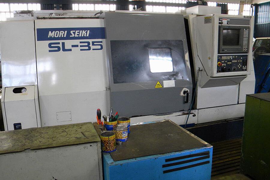 Torno CNC Mori Seiki SL35