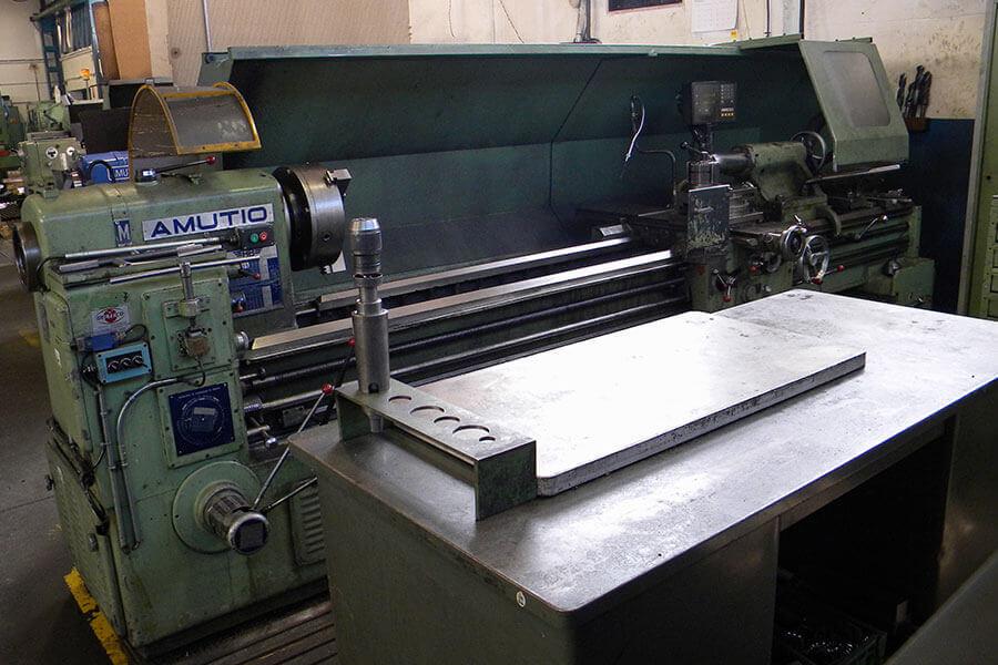 Torno Amutio Ø Mecanizado 750 x 3000.