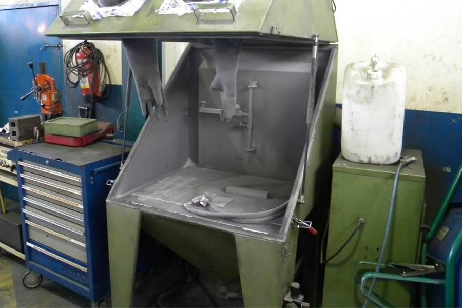 Máquina chorreadora