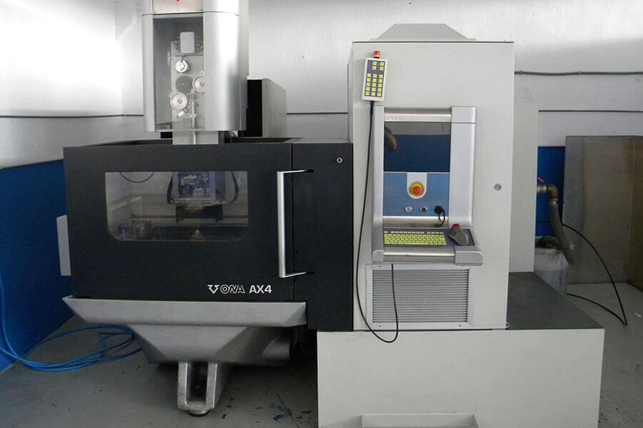 ONA AX4 600 x 600 x 350 (CAD CAM FIKUS visualcam 18 de METALCAM)