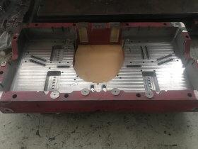 Fabricacion base tacos troquelería Industrias Loher