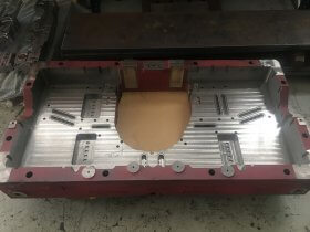 Fabricación base tacos troquelería Industrias Loher
