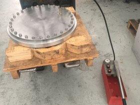 Fabricacion tapa campana gas