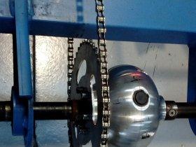 Fabricacion diferencial bicicleta eléctrica Industrias Loher